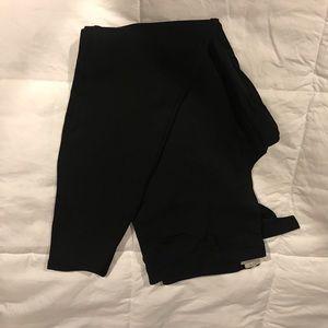 J crew skinny black pants